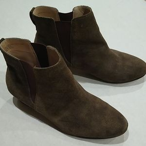 Sole Society Kent Army Brown Cow Suede Upper 10